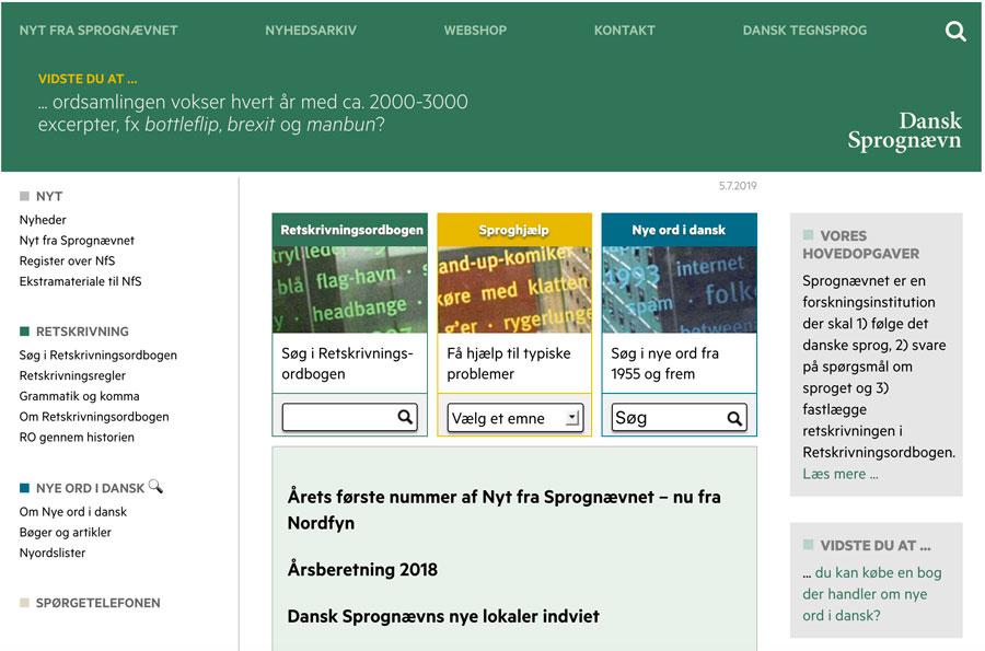 Dansk Sprognævn – dsn.dk